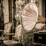 Grammophon Zeitwandel