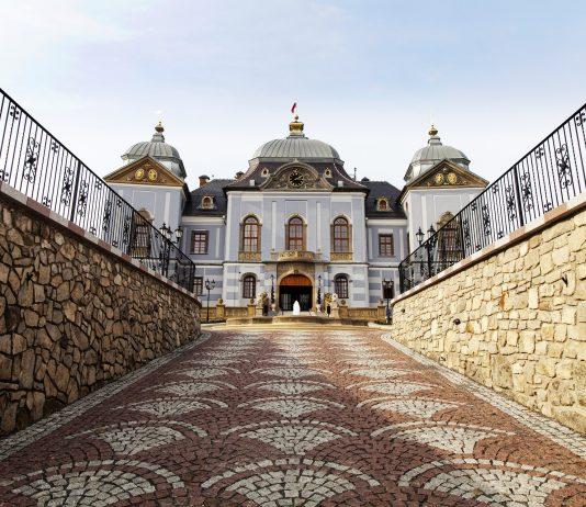 Schloss Aufgang